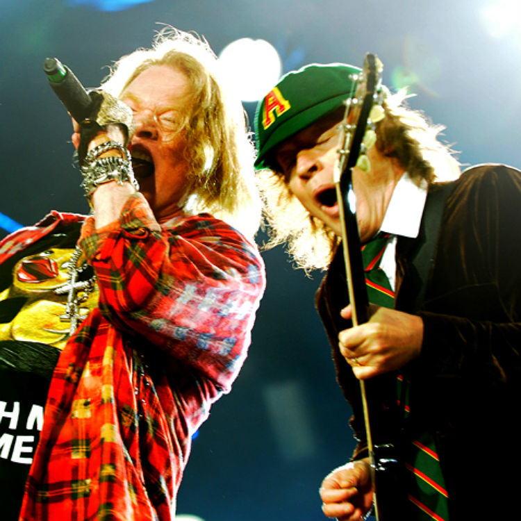 AC/DC Axl Rose tour storms Manchester Etihad Stadium, photos, setlist