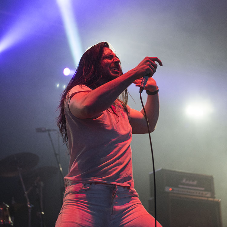 Andrew WK live at Download Festival 2015