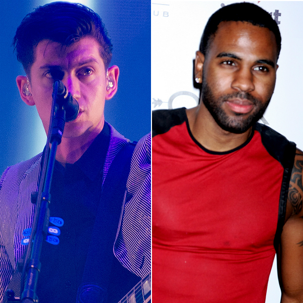 Arctic Monkeys still at No.1 with AM, while Jason Derulo knocks off Katy Perry