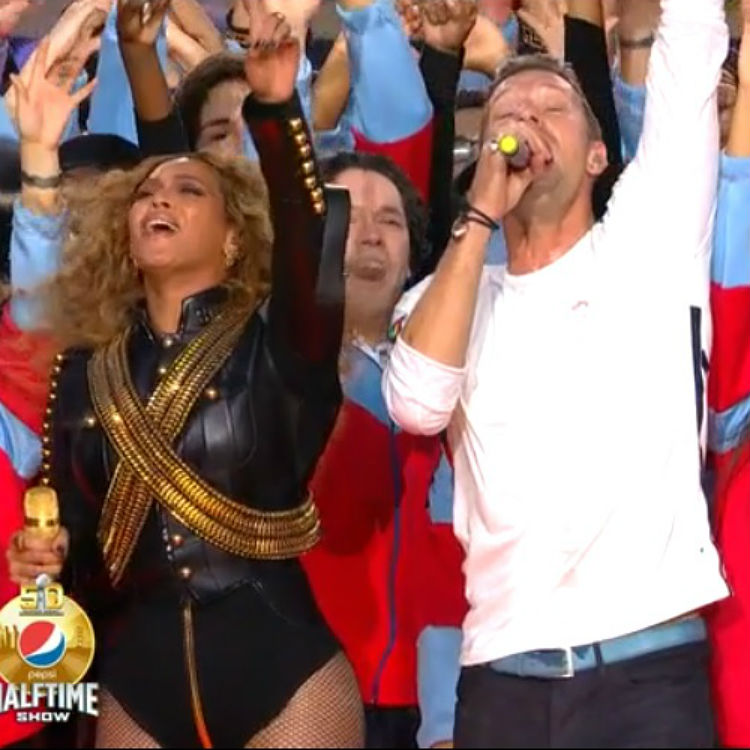 Coldplay Super Bowl halftime show performance watch, Beyonce, Twitter