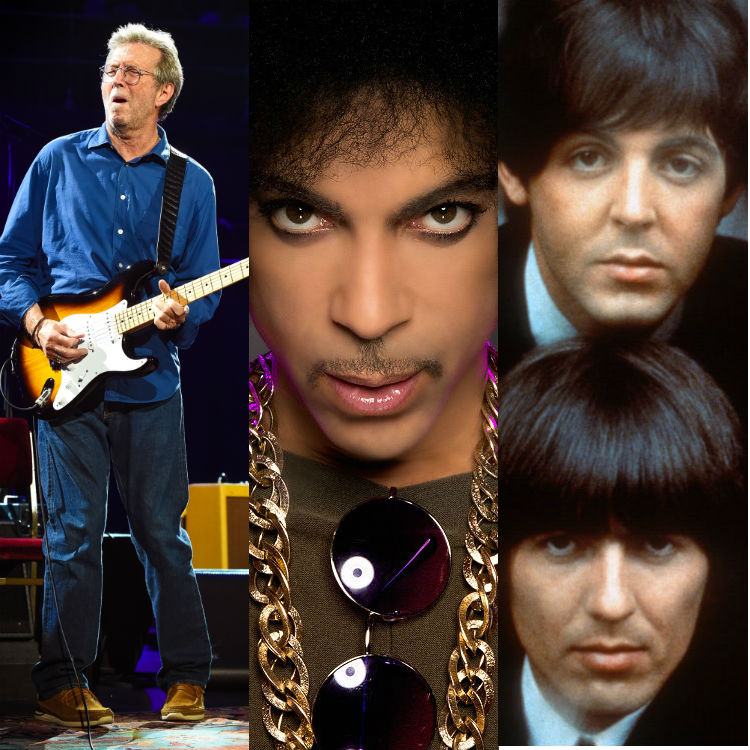 Prince, The Beatles and Eric Clapton memorabilia in one huge auction