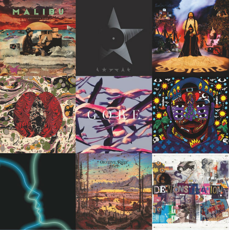 Gigwise 51 best albums 2016