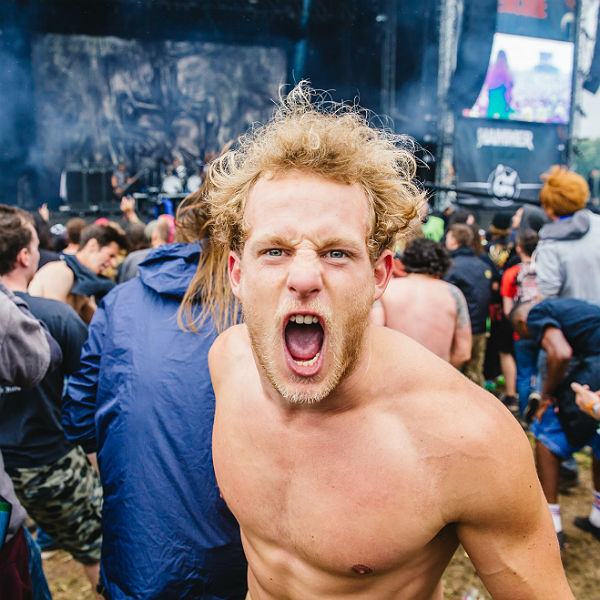 Moshing and mayhem: the beautiful people of Download