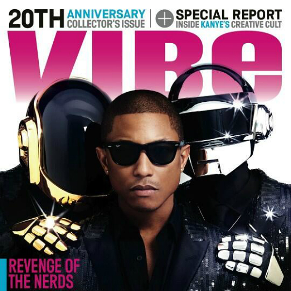 Pharrell and Daft Punk star on new Vibe cover