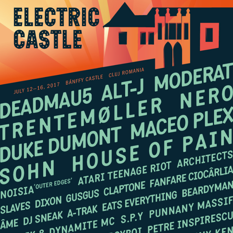 Romania's Electric Castle adds Deadmau5, House of Pain, Slaves
