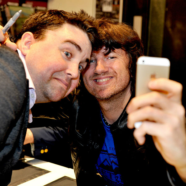 Embrace meet fans, sign albums, pose for selfies in Manchester HMV