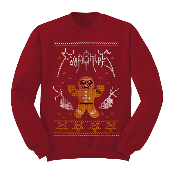 Foo Fighters' Xmas jumpers are great   Gigwise
