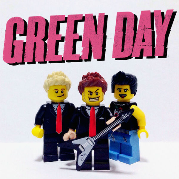 Green Day, Foo Fighters, Muse + more made as Lego
