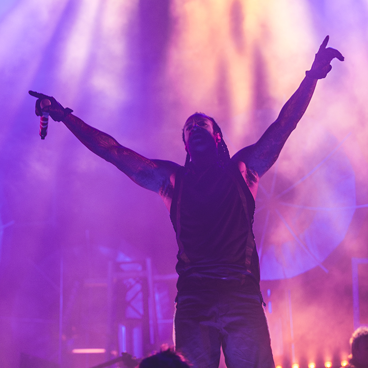 The Prodigy's headline set at Isle of Wight Festival 2015