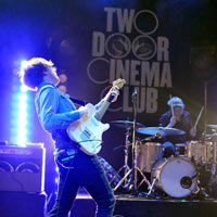 Two Door Cinema Club Predict Pulp Secret Set At Glastonbury Festival 2011