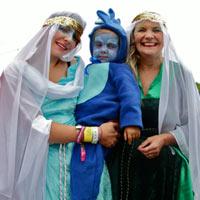Camp Bestival 2011: Festival-Goer's Medieval Fancy Dress In Photos