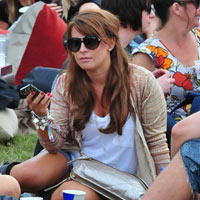 Coleen Rooney, Rupert Grint, TOWIE: Celebrities At V Festival 2011