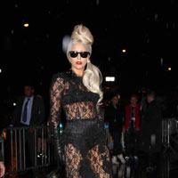 Lady Gaga Performs 'Marry The Night' At Grammy Nominations 2012 - Video