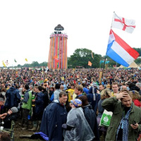 From Mud To Sunburn: The Crowds Of Glastonbury Festival 2011