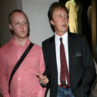 Sir Paul McCartneys Son Starts Band Influenced By The Beatles