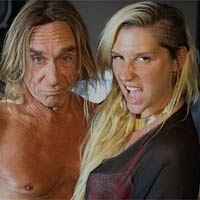 Ke$ha working with Iggy Pop on second album