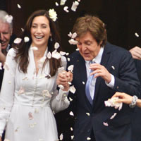 Paul McCartney And Nancy Shevell's Wedding In Photos
