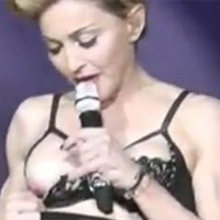 Madonna Causes A Storm With All Female French Kiss At Paris Concert