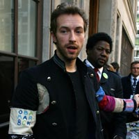 Coldplay's Chris Martin Shows Continued Support For President Barack Obama