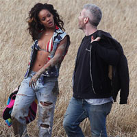 Rihanna Ordered To Put Her Clothes On By Farmer In Northern Ireland