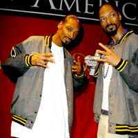 Snoop Dogg Unveils Waxwork At Madame Tussauds - Photos