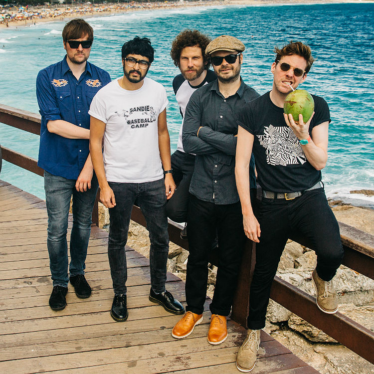 MTV Crashes Coventry 2016 ticket competition, Kaiser Chiefs