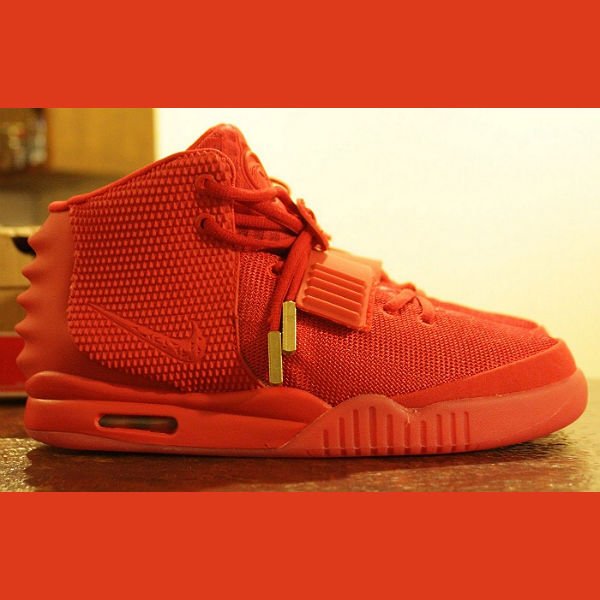 Kanye West's Nike 'Red October' trainers on eBay for £10million