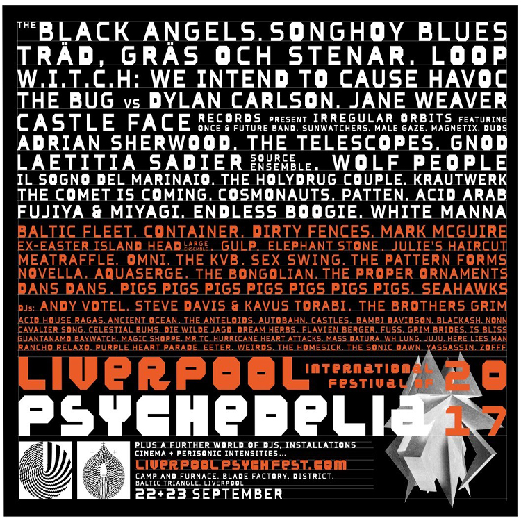 Liverpool International Festival Of Psychedelia expands line up