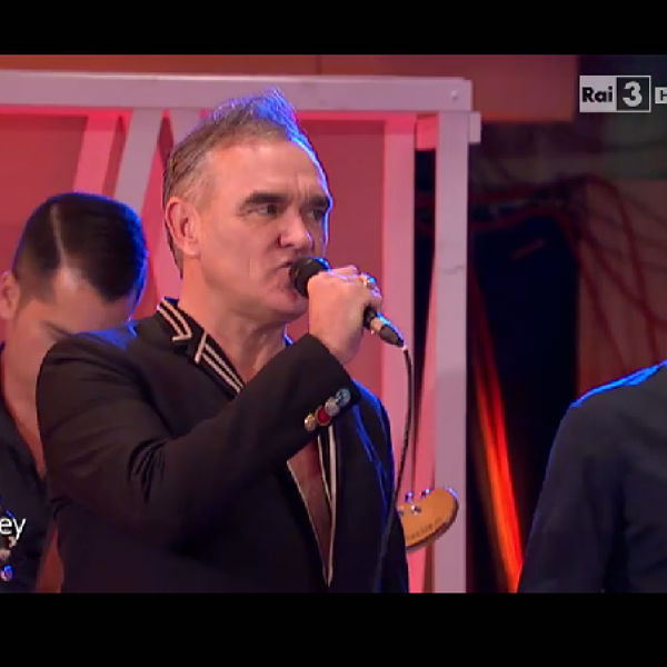 Watch: Morrissey makes first TV appearance of the year in Italy