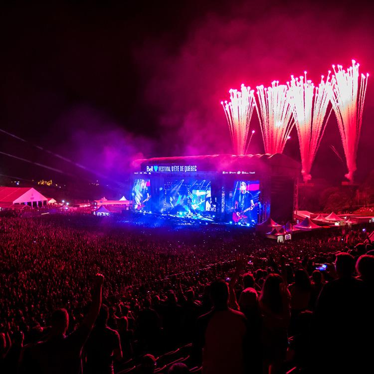 Live Review: Metallica at Festival D'Ete, Quebec, Canada