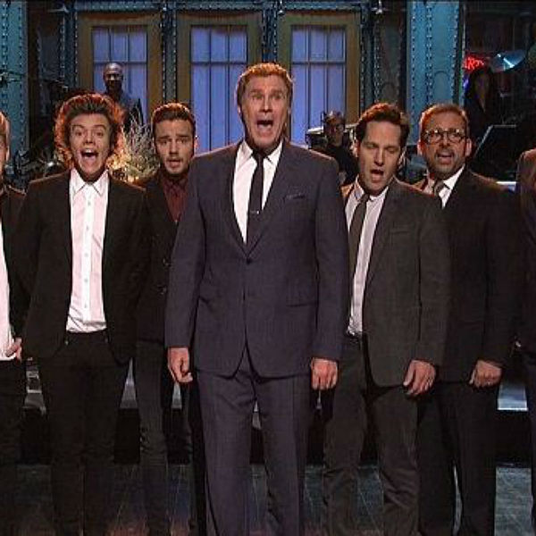 One Direction join Anchorman cast for 'Afternoon Delight'