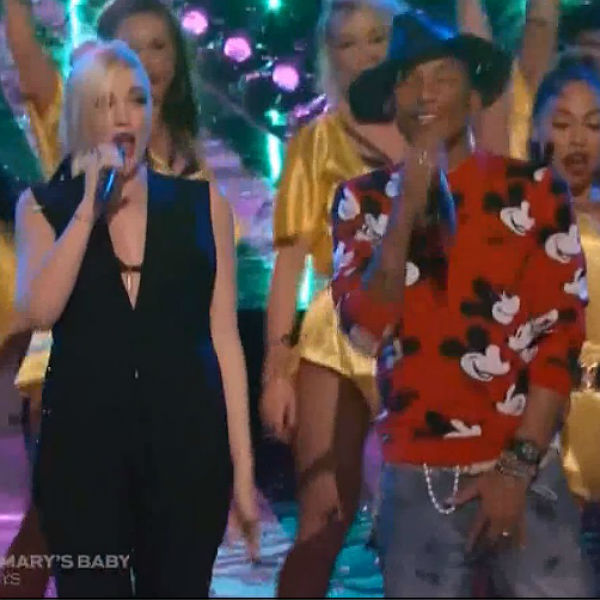 Watch: Pharrell and Gwen Stefani perform 'Hollaback Girl' on The Voice