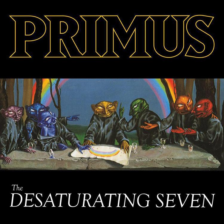 Primus announce new album The Desaturating Seven and single The Seven