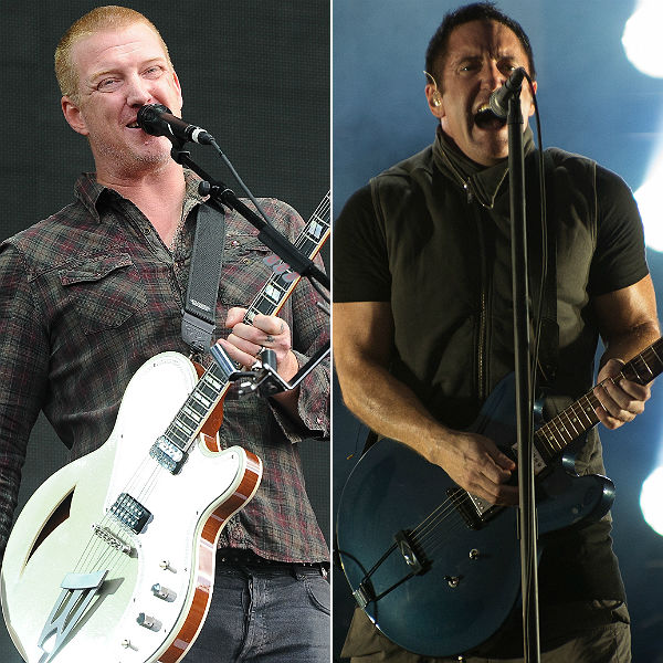 Josh Homme and Trent Reznor discuss collaboration in joint interview