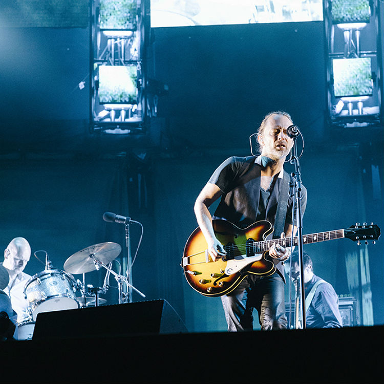 Radiohead's breathtaking Nos Alive set in beautiful photos