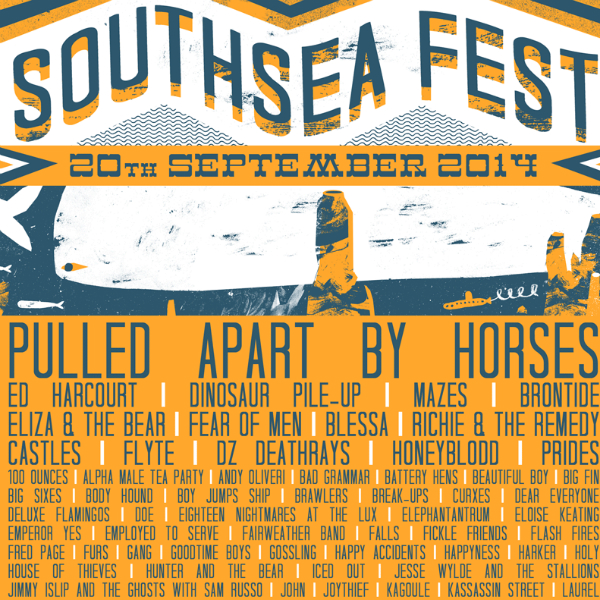 Win tickets to this weekend's Southsea Fest 2014