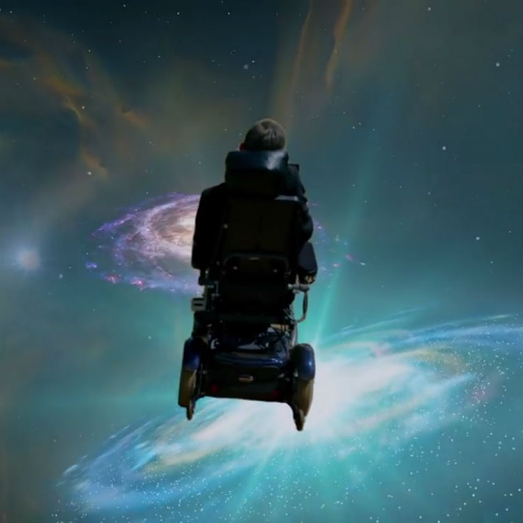 Stephen Hawking cover Monty Python Galaxy Song for Record Store Day