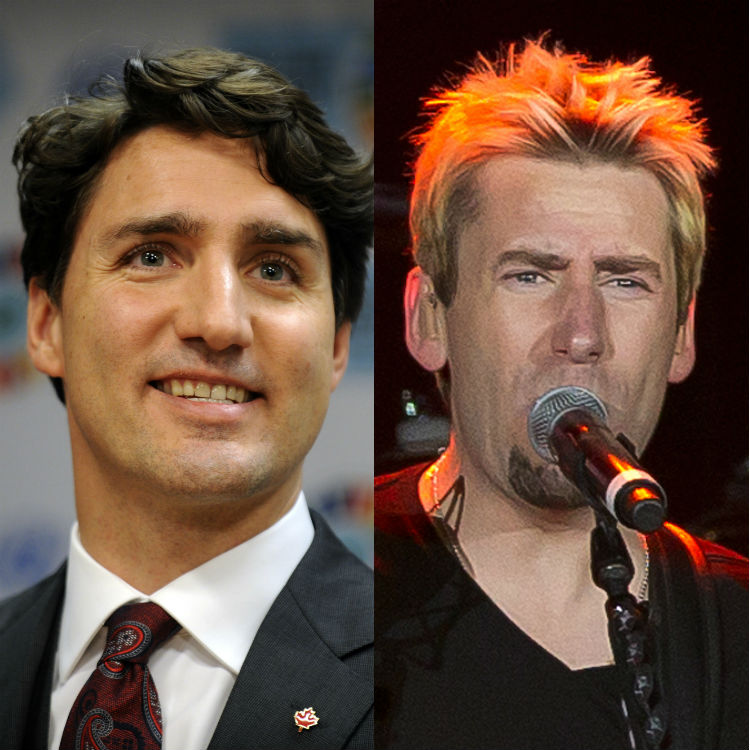 Now the Canadian Prime Minister is defending Nickelback