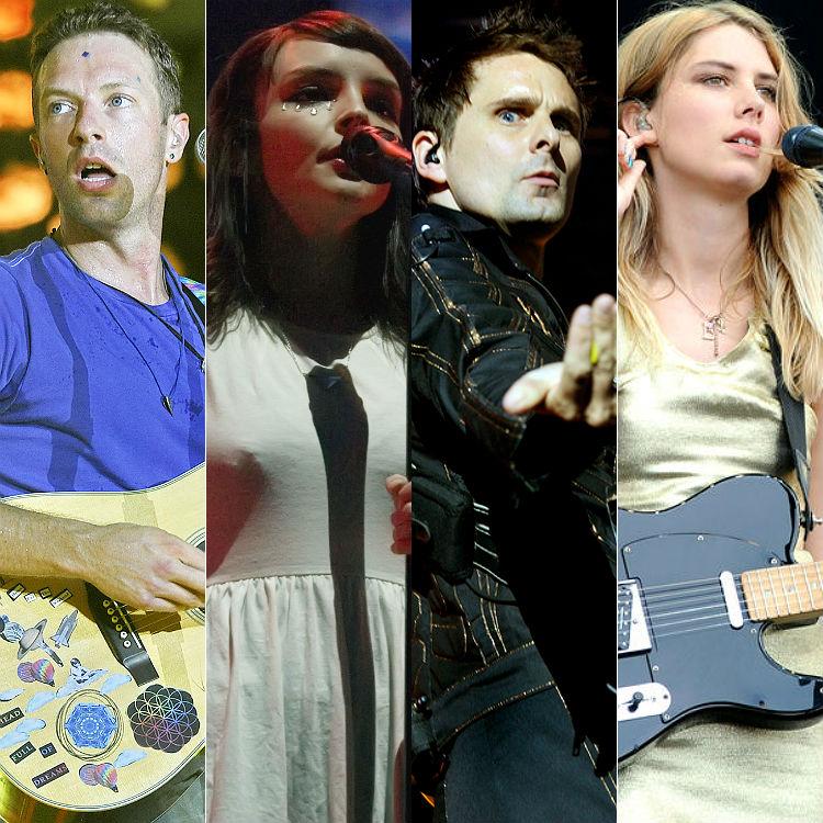 Glastonbury 2016 live album tracklist revealed - Muse, Coldplay, Wolf