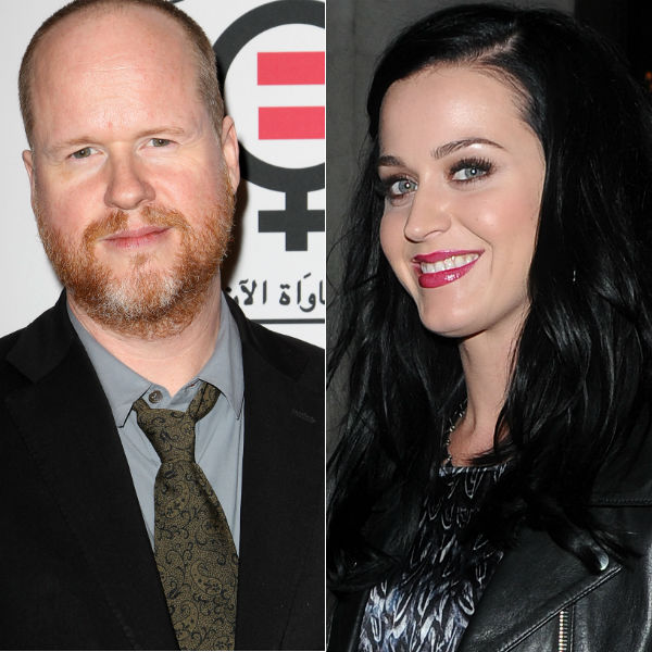 Joss Whedon hits out at Katy Perry in brilliant speech on gender equality