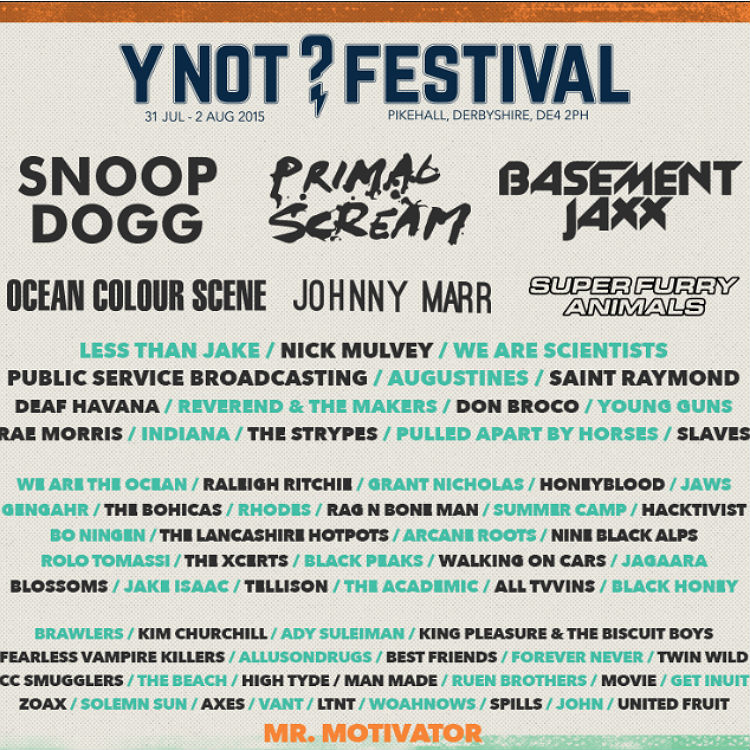 Super Furry Animals lead the new additions to Y Not Festival
