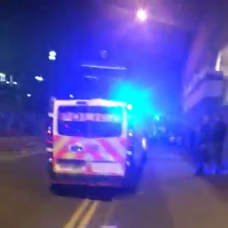 Bomb reportedly gone off in Manchester Arena following Ariana Grande c