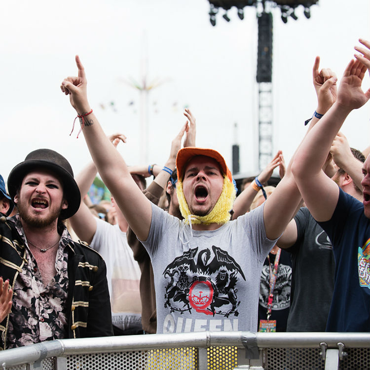 The beautiful people of Isle Of Wight Festival 2016