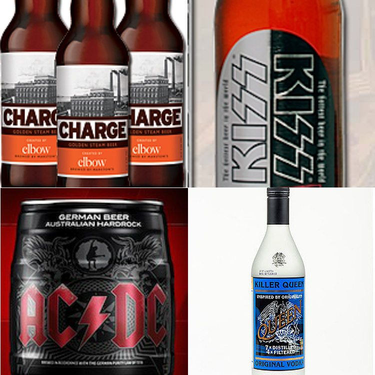 10 bands who created their very own booze