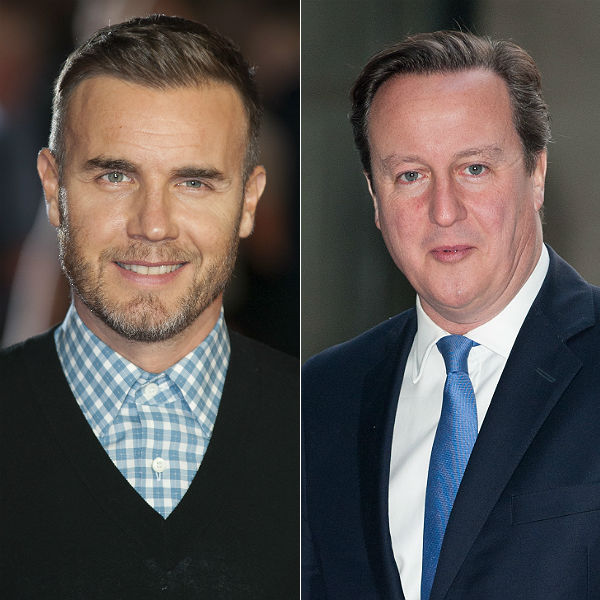 David Cameron backs Gary Barlow in row over Take That tax avoidance