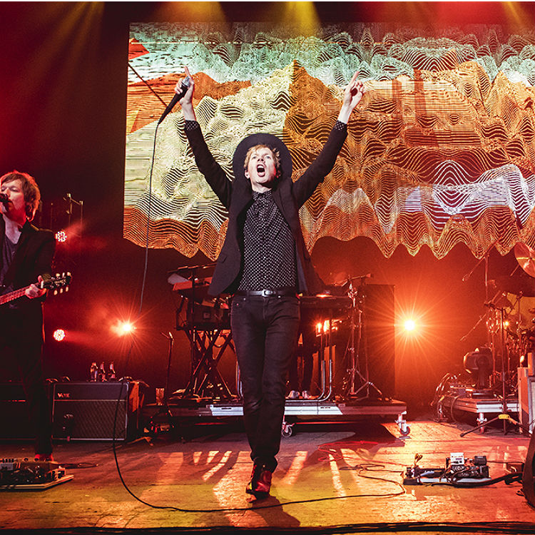 Beck's tour hits London's Brixton Academy - see the photos & setlist