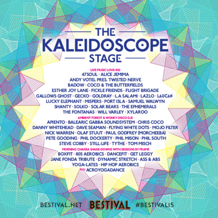 Bestival 2015 includes new Kaleidoscope stage