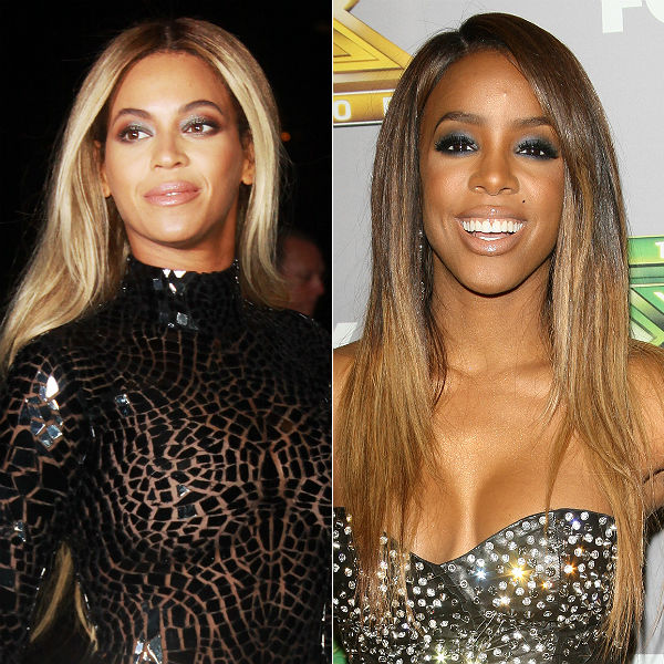 Photos: Beyonce crops Kelly Rowland out of Aaliyah ...