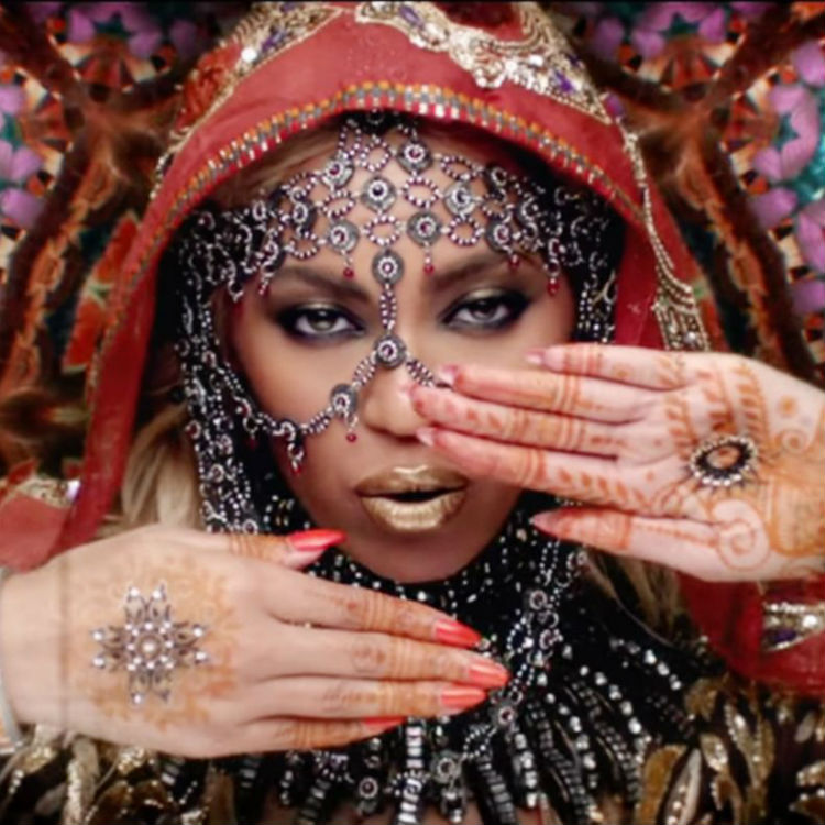 Coldplay Beyonce video Hymns Weekend, Hindu cultural appropriation