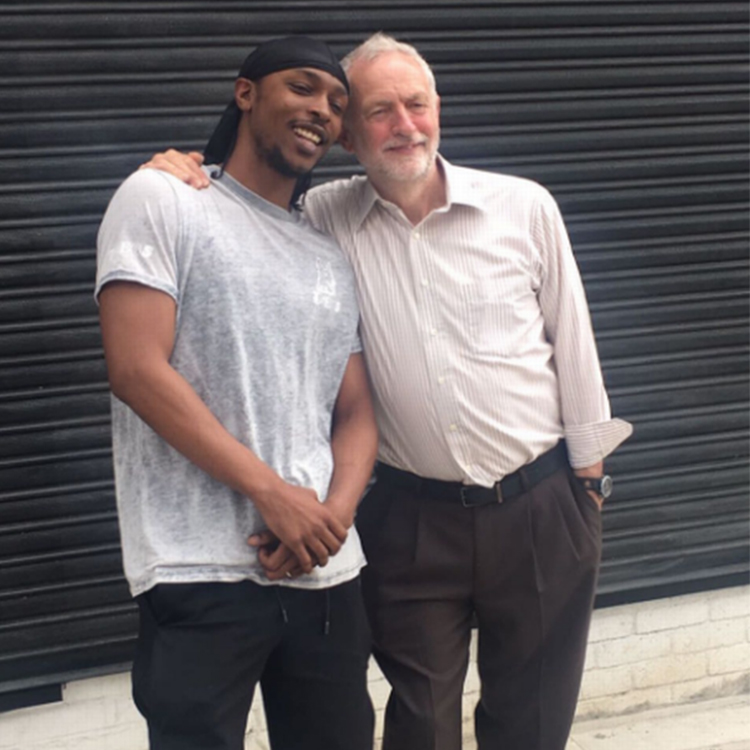 Grime's support for Corbyn creates surge in young voter registration
